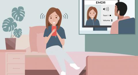 EMDR via de NiceDay app